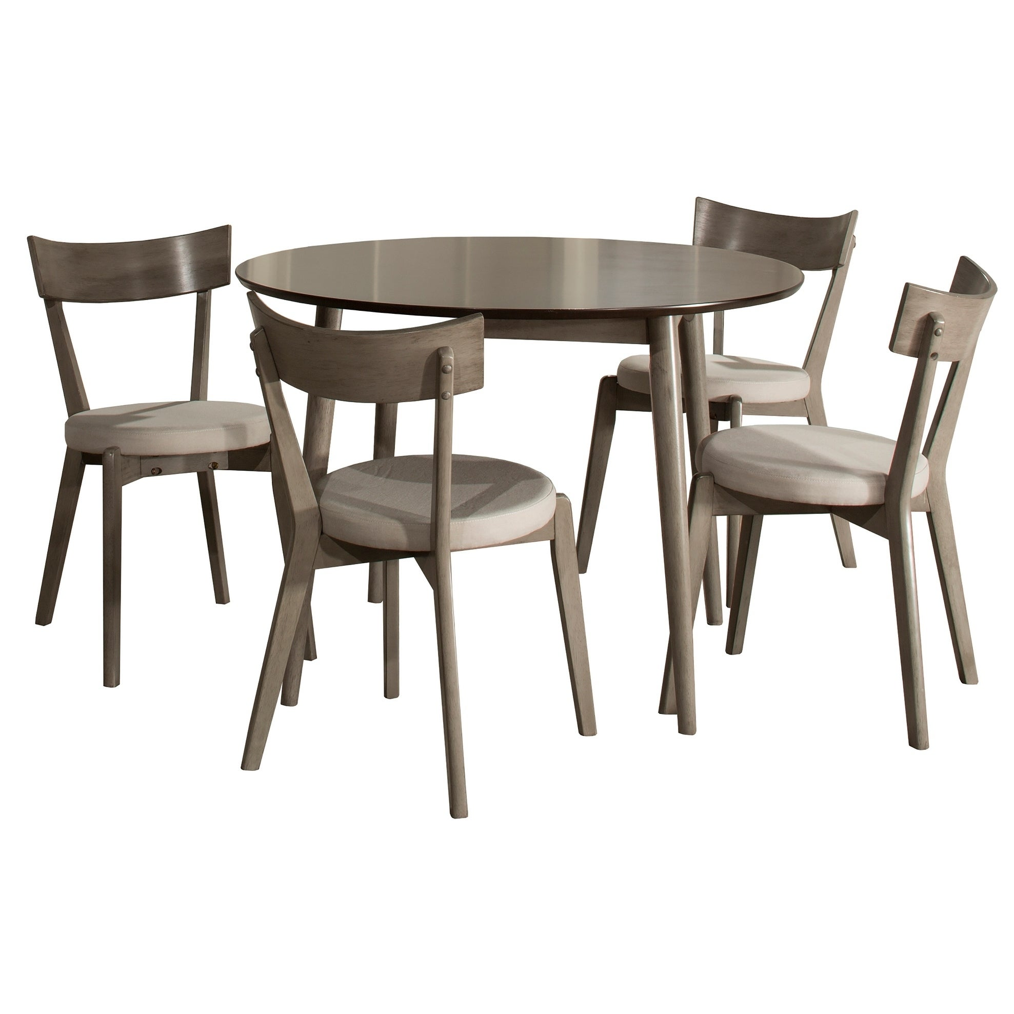 Hillsdale Furniture Mayson Five Piece Dining Set, Gray   Free Shipping  Today   Overstock   24024375