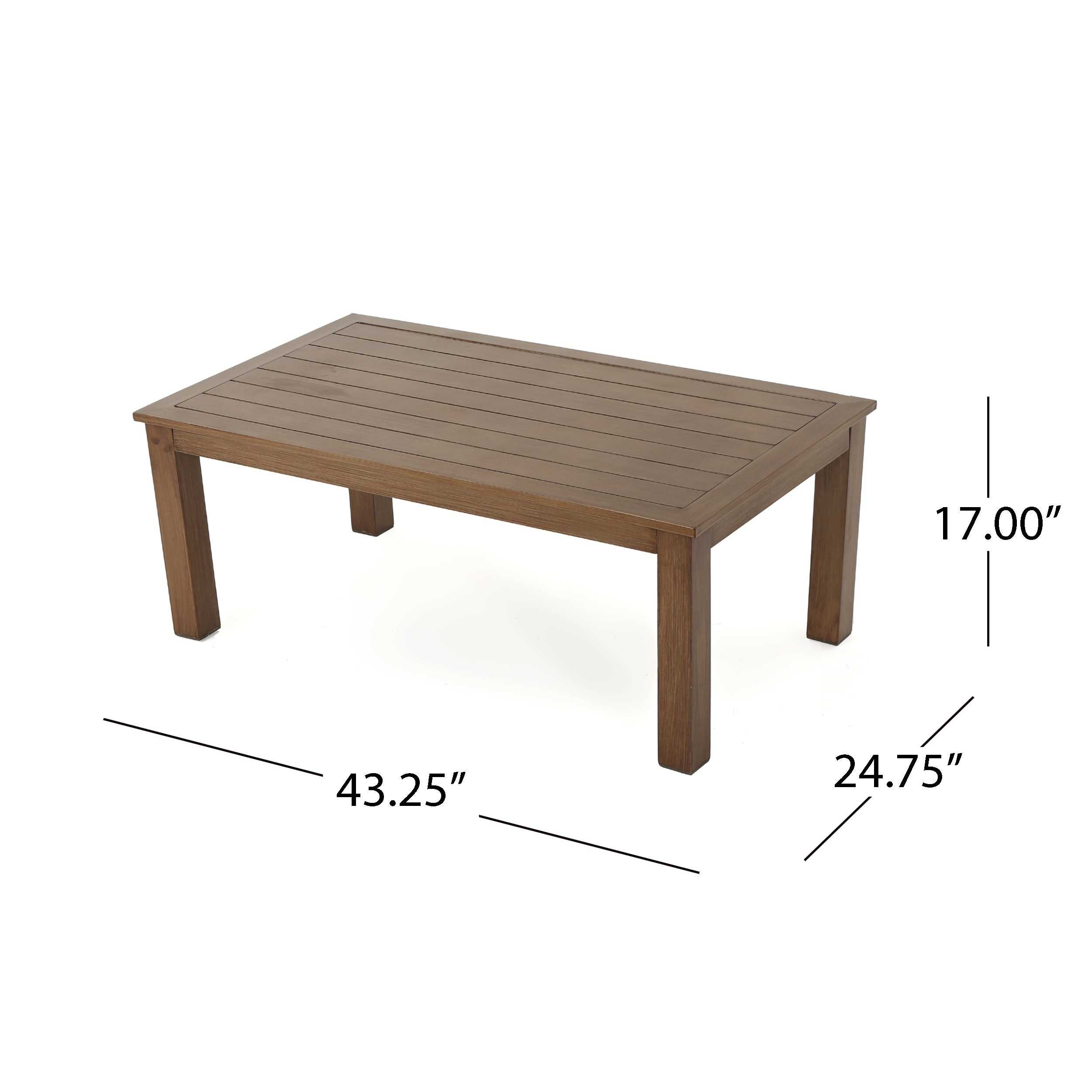 Attirant Shop Melrose Outdoor Aluminum Rectangle Coffee Table By Christopher Knight  Home   On Sale   Free Shipping Today   Overstock.com   17841666