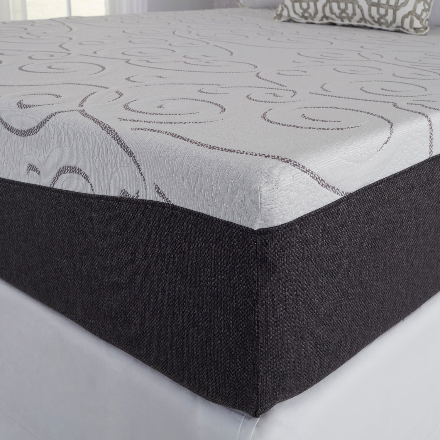 slumber mattress in a box. Slumber Solutions Northern Lights Choose Your Comfort Gel Memory Foam 14-inch Queen-size Mattress - Free Shipping Today Overstock 24036650 In A Box