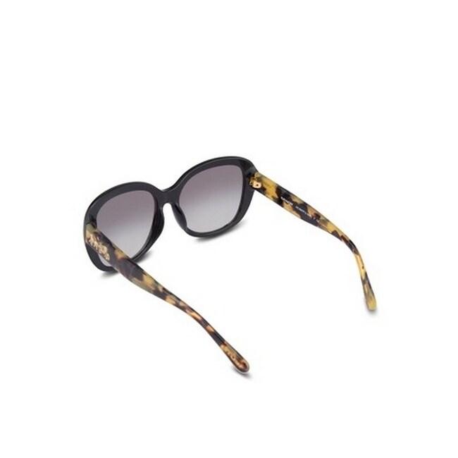 8c560e8604 ... low price shop coach womens hc8207f 544911 57 light grey gradient  plastic square sunglasses free shipping