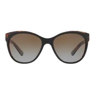 59b3cc3dd447 Shop Ralph Lauren Women s RL8156 5260T5 57 Gradient Brown Polar Metal Cat  Eye Sunglasses - Free Shipping Today - Overstock.com - 17850919