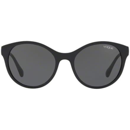 bdfcebf8d5 Shop Vogue Women s VO5135Sb W44 87 52 Gray Plastic Round Sunglasses - Grey  - Free Shipping Today - Overstock.com - 17851116