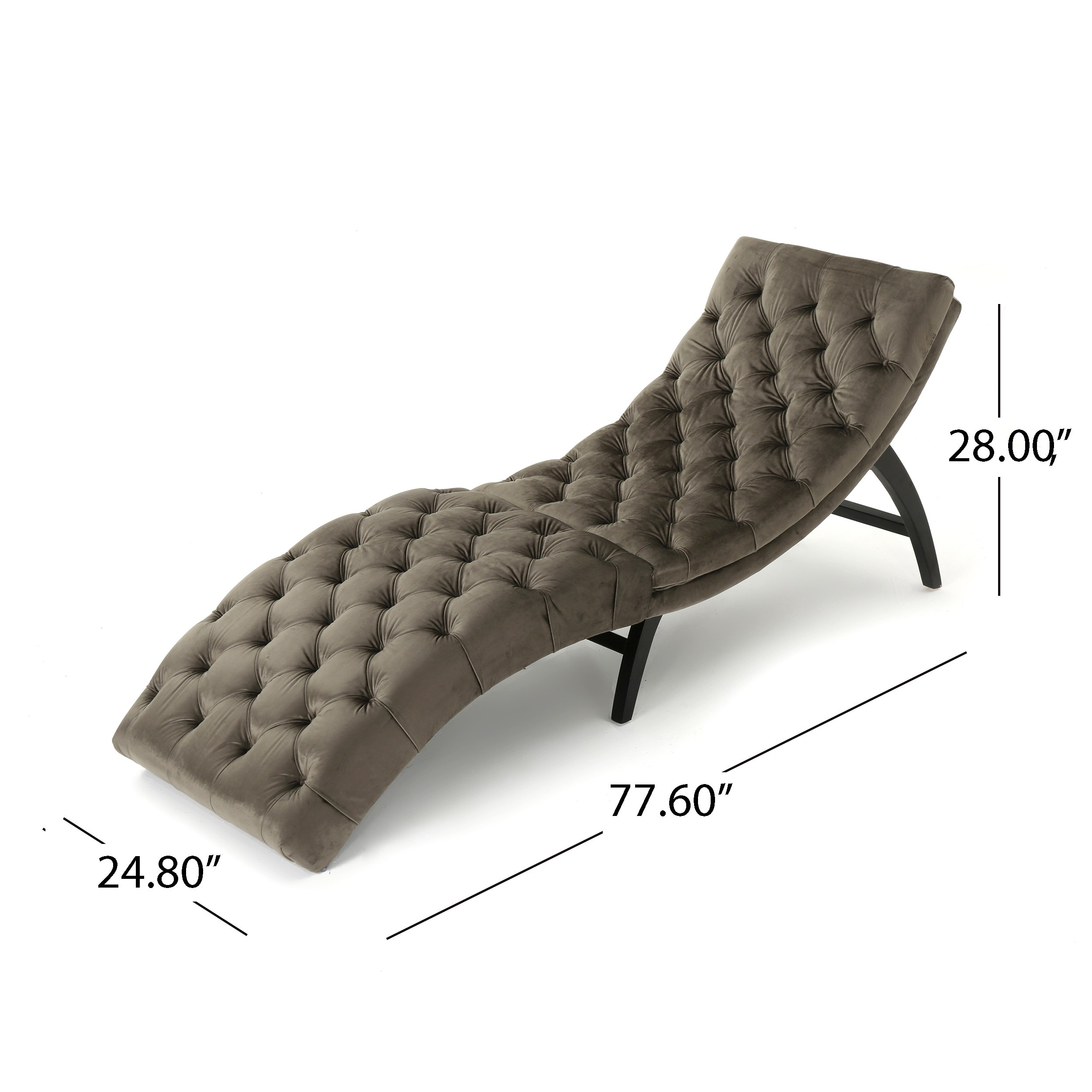 wood lounge pin cool pinterest solid velvet with black frame chaise