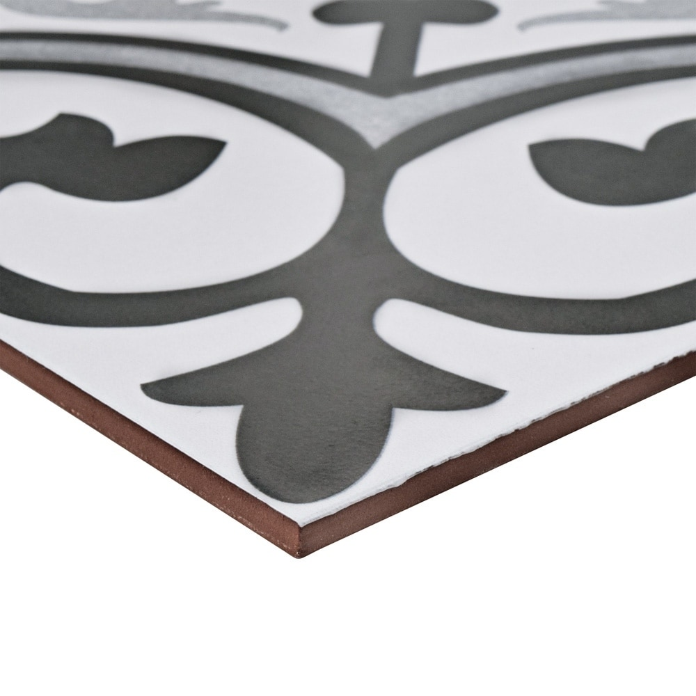 Shop SomerTile 12.375x12.375-inch Fabiola Ceramic Floor and Wall ...