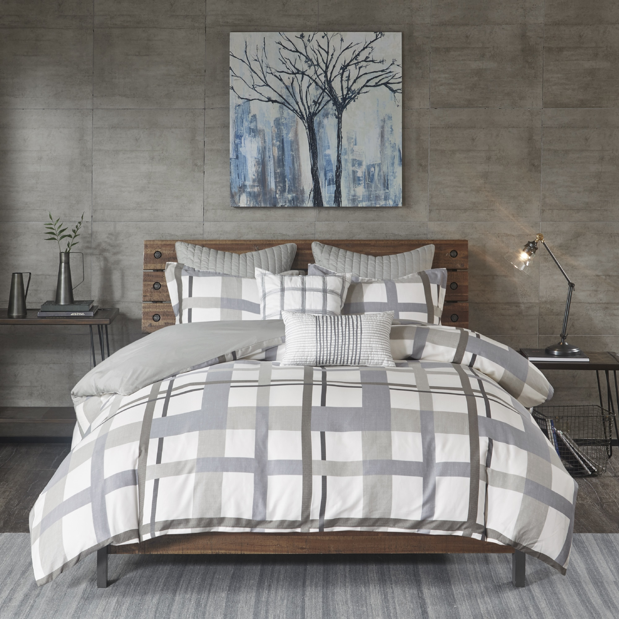 striped sheets blue gray white and grey comforter superblackbird info