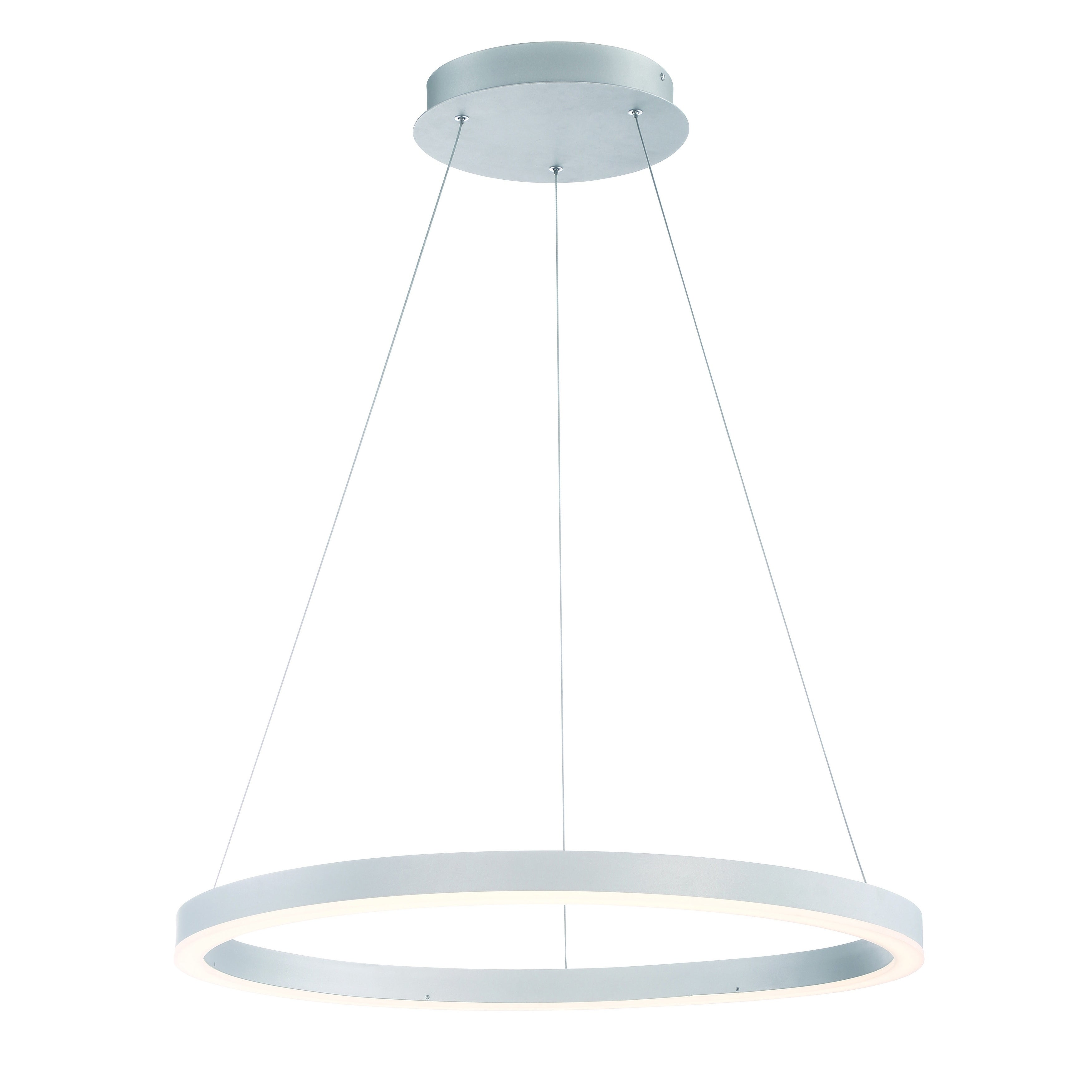 diffused lighting fixtures. Eurofase Spunto Oversized LED Ring Chandelier, Aluminum Finish With Opal Diffused Shade, 27.5 Inches In Diameter - 31471-015 Free Shipping Today Lighting Fixtures M