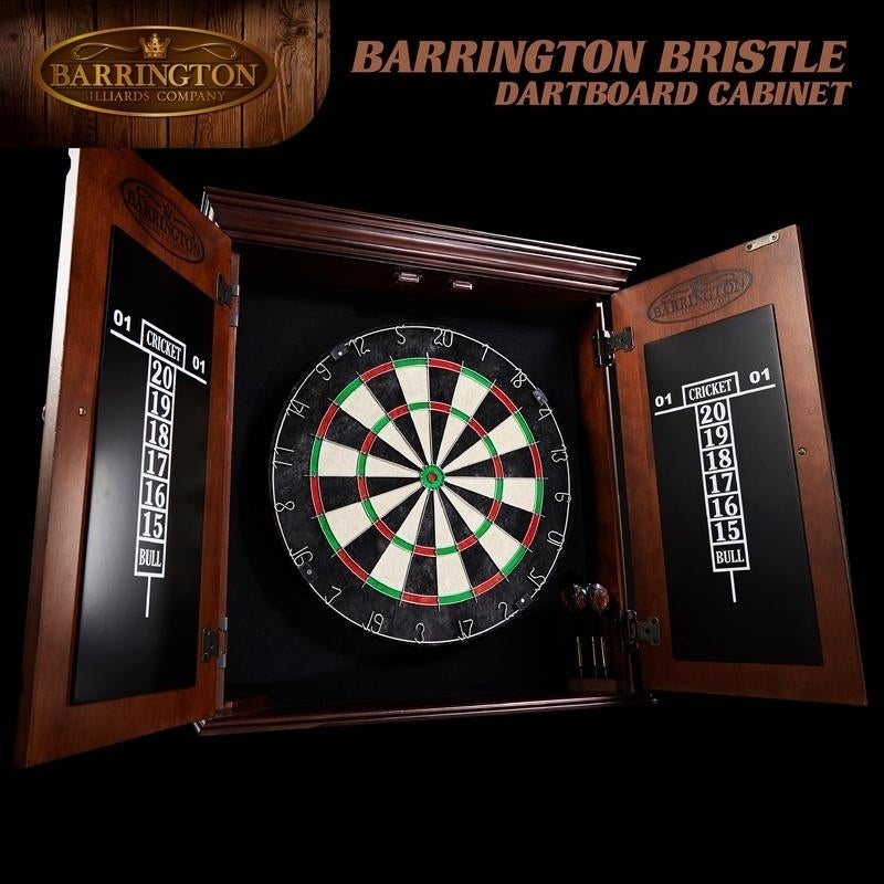 Barrington Chatham Bristle Dartboard And Cabinet Set Free Shipping Today 17925559