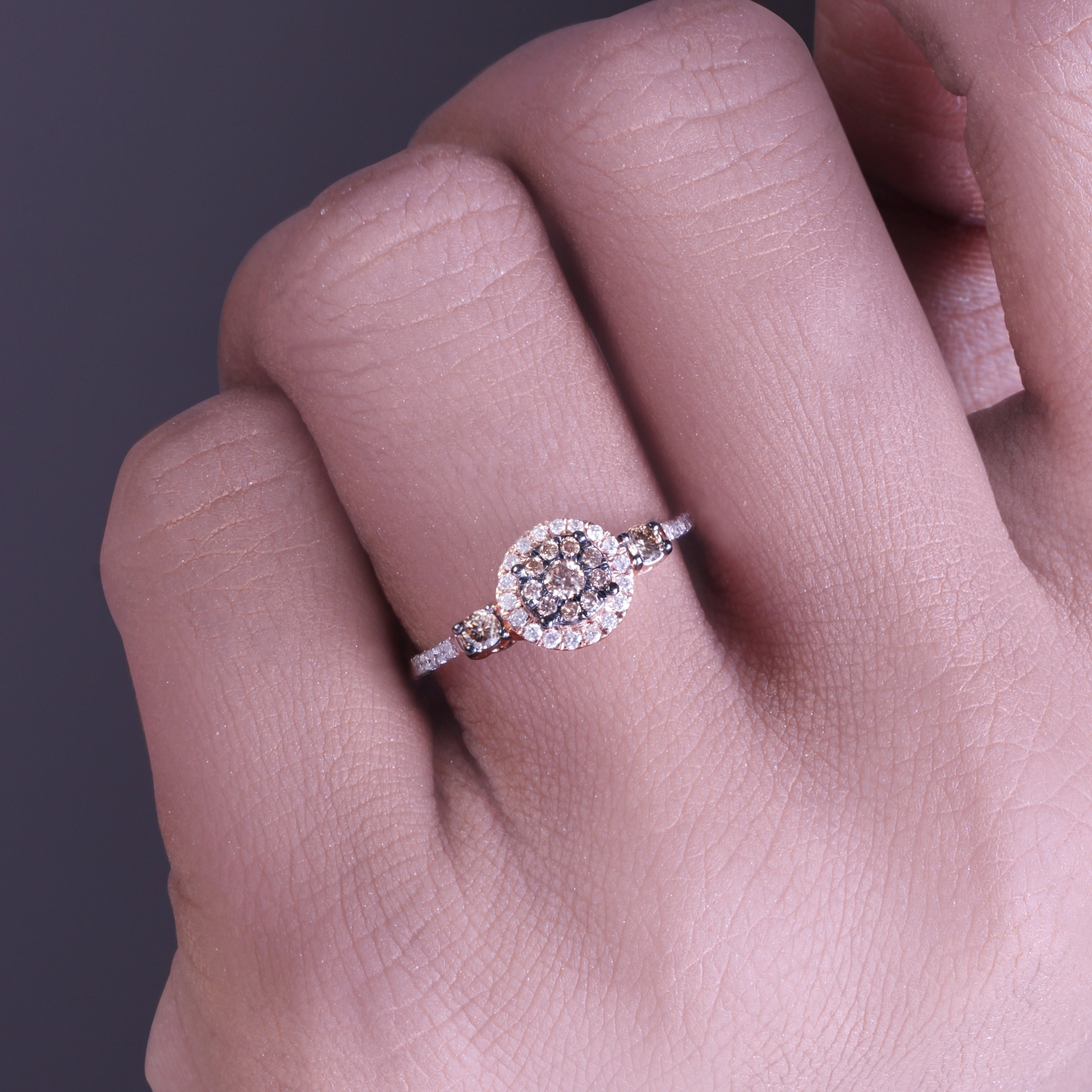 morganite ring peach home statement fullxfull product halo dainty diamond engagement il carat