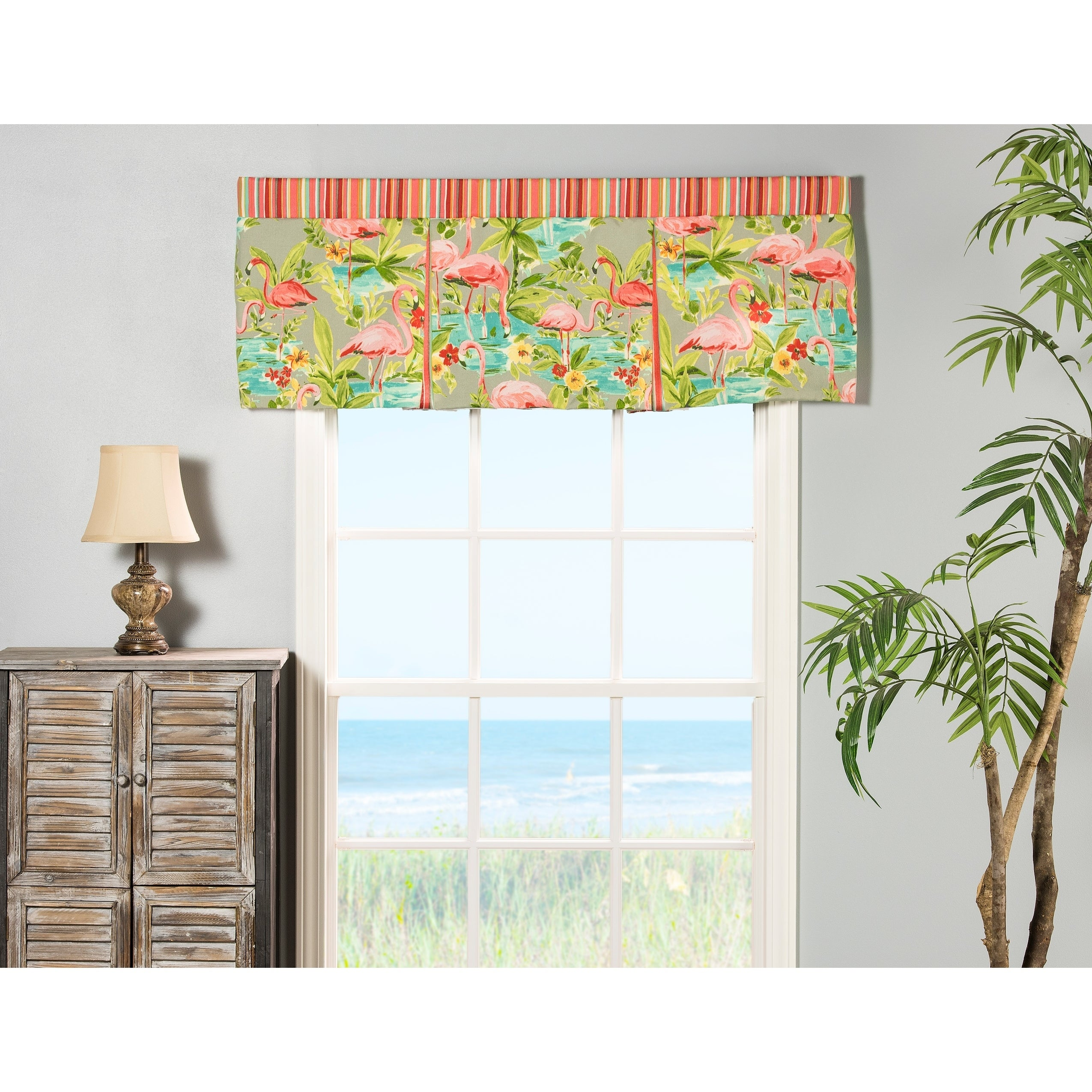 of tie style a pin to add space home print pleat box moroccan aurora up darkening the contemporary shade touch with valance inch any room window