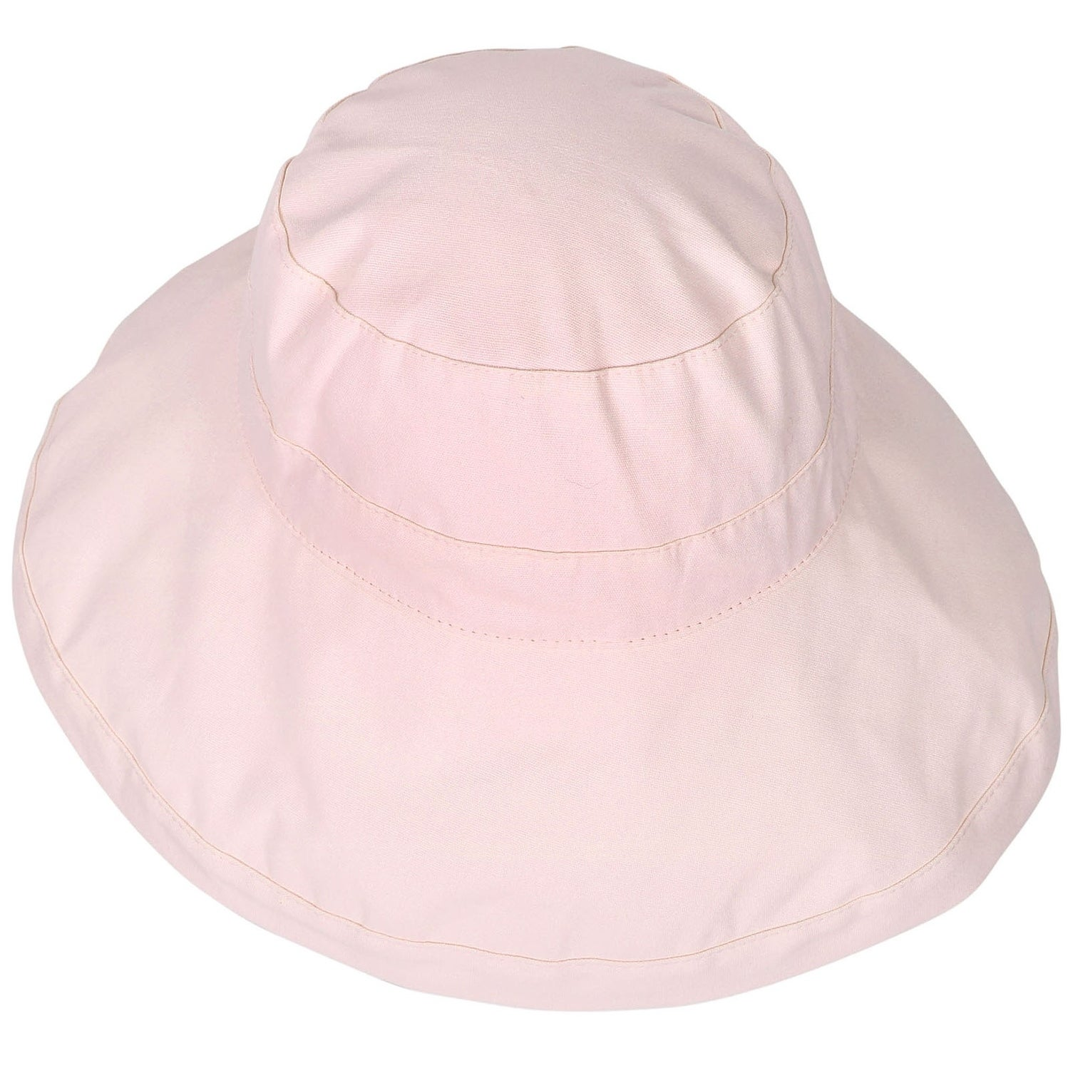 74e48ca6730 Shop Women s Foldable Cotton Wide Brim Bucket Hat with Sun Protection - On  Sale - Free Shipping On Orders Over  45 - Overstock - 17928417