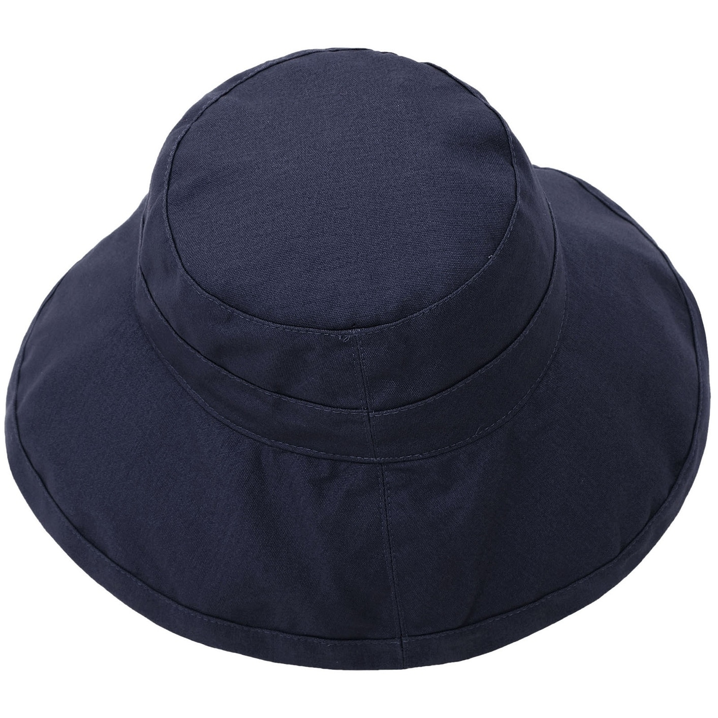 Women s Foldable Cotton Wide Brim Bucket Hat with Sun Protection 7b78ef9c2af