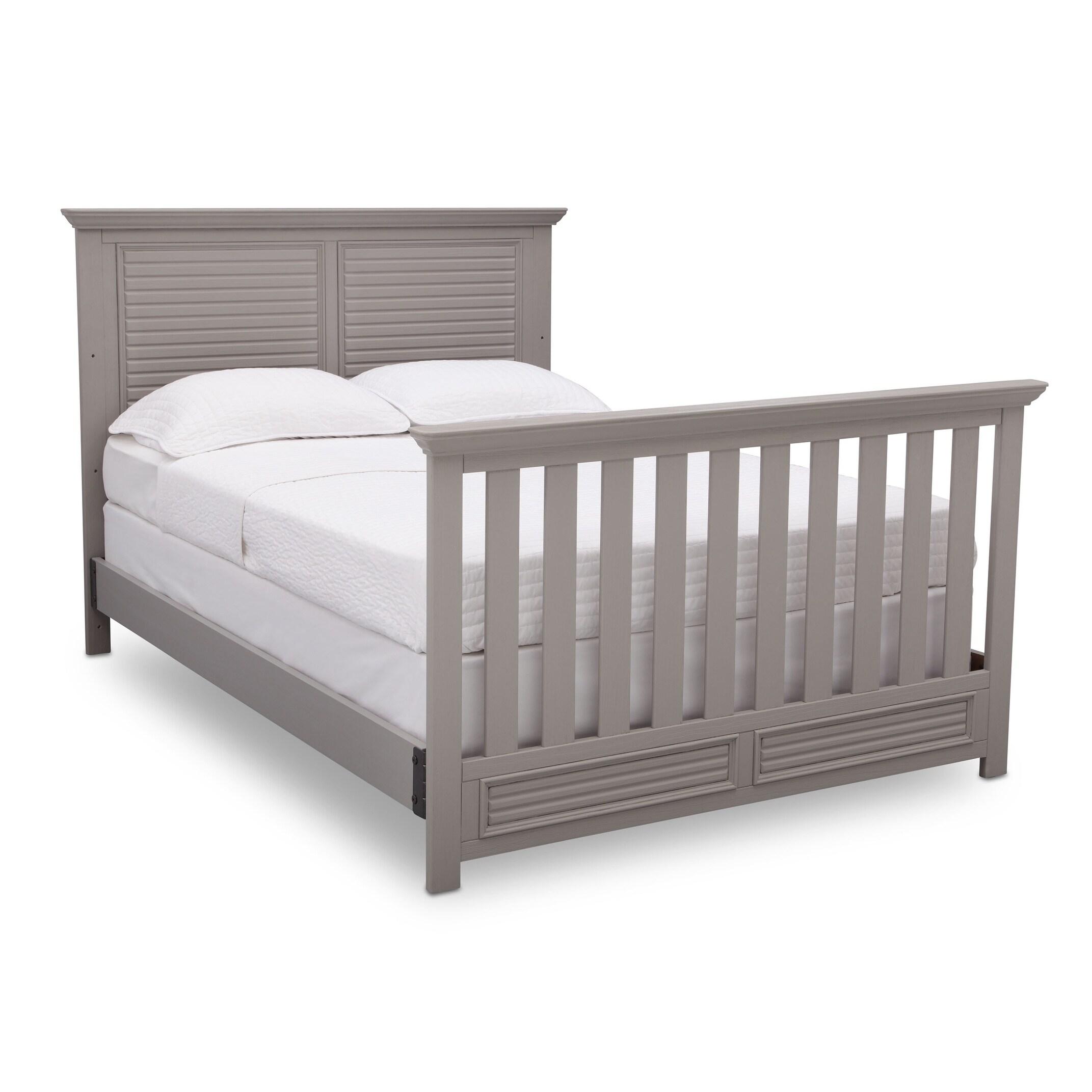 simmons kids oakmont convertible crib n more rustic bianca free
