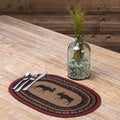 Cumberland Oval Jute Placemat Set of 6