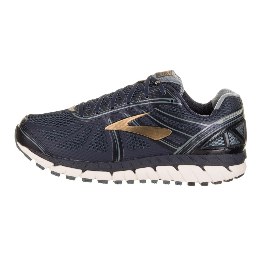 0c2be8bed9f Shop Brooks Men s Beast  16 Extra Wide 4E Running Shoe - Free Shipping  Today - Overstock - 17934644