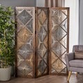 Clyde Wood Wall Divider by Christopher Knight Home