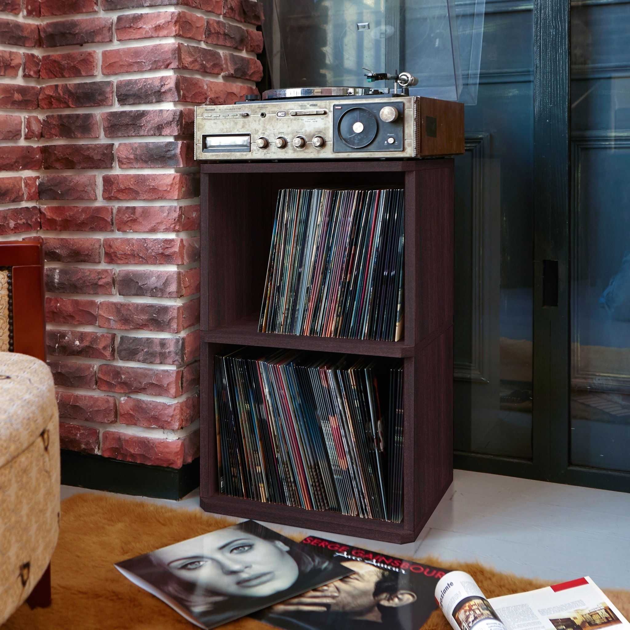 me shelf u please kallax record shelving pipe ikea storage shelves vinyl industrial