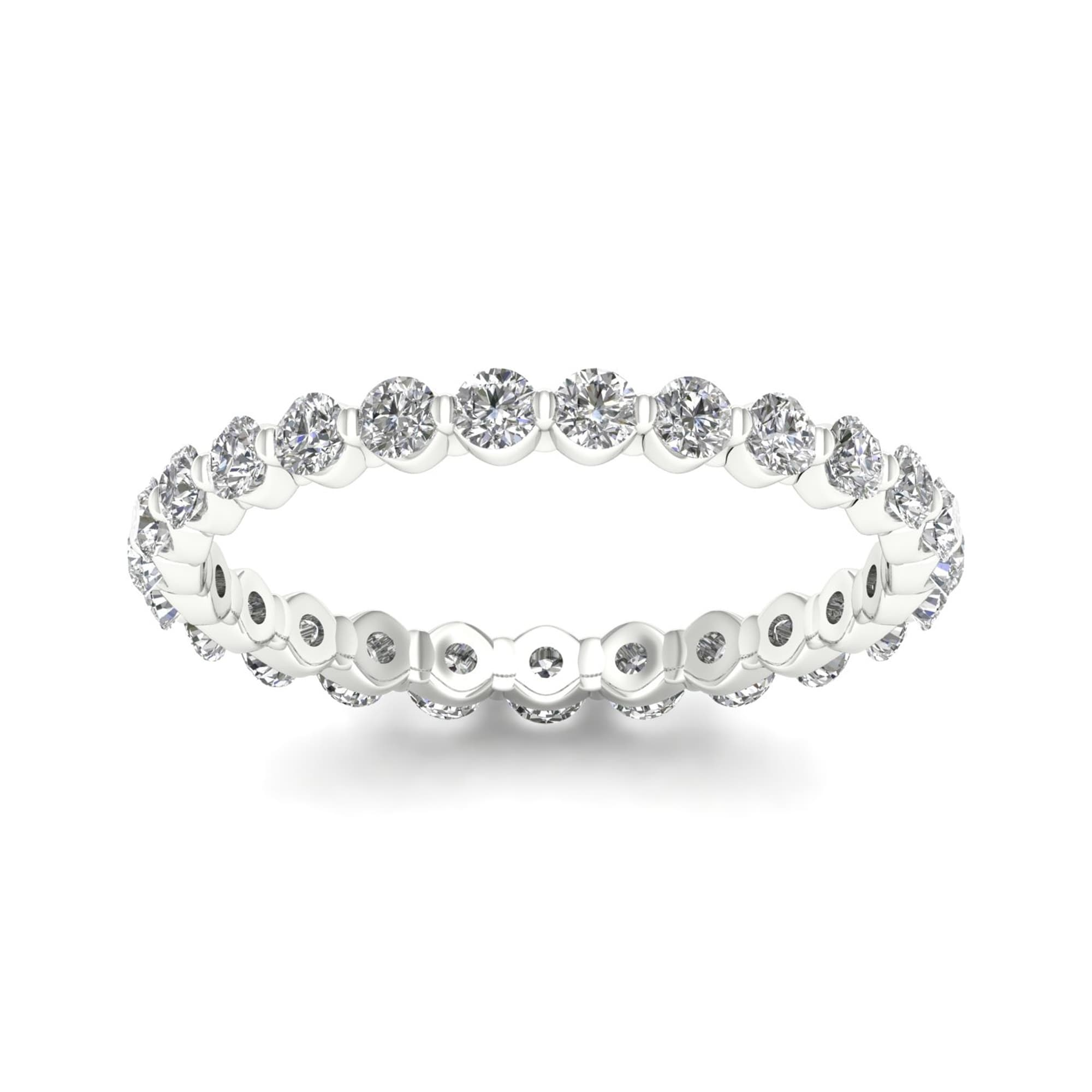 eternity ring branded white gold band diamond jewelry bands non