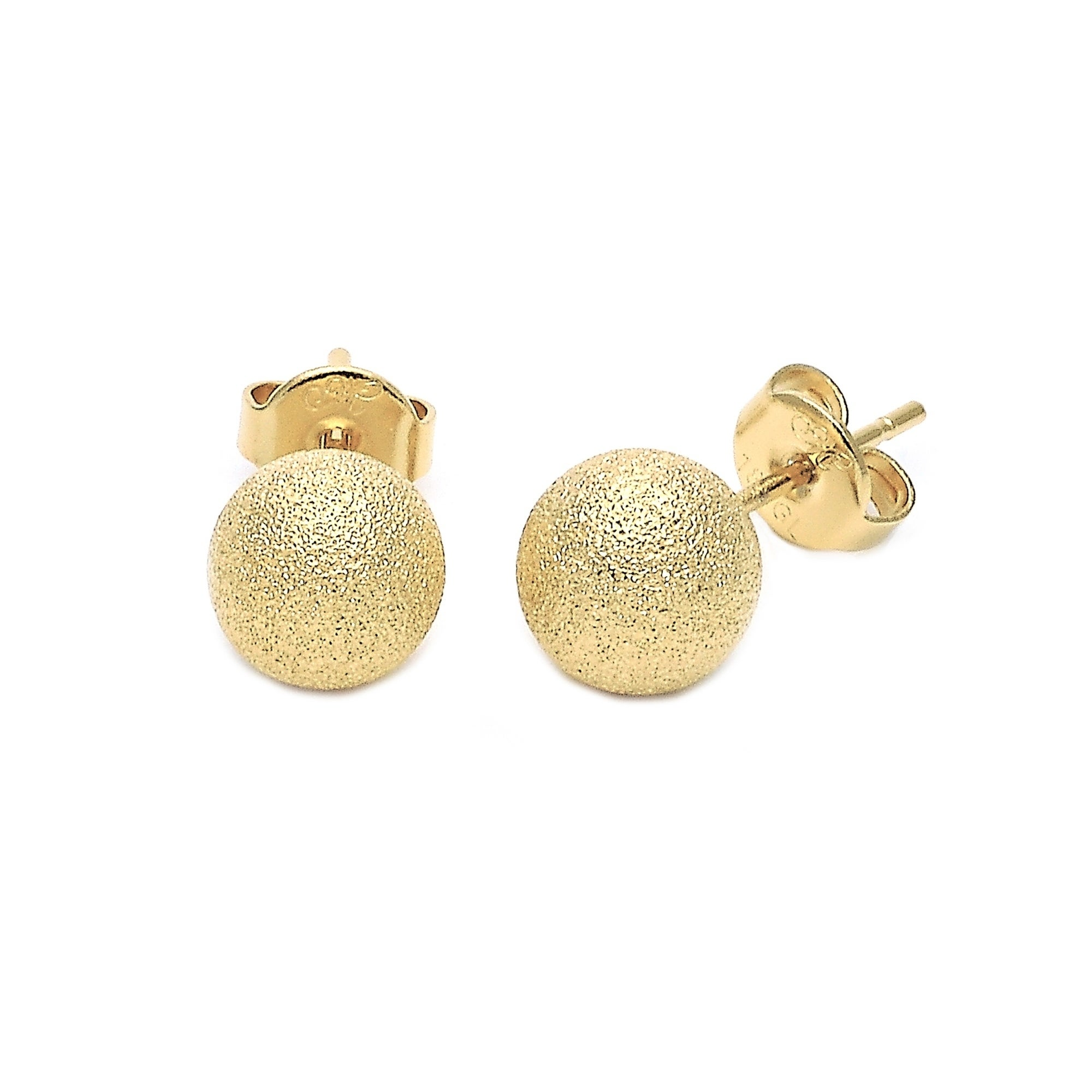 chanel earrings matte gold cc drop