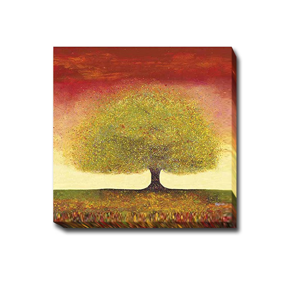 Shop Dreaming Tree Red by Melissa Graves-Brown Gallery-Wrapped ...