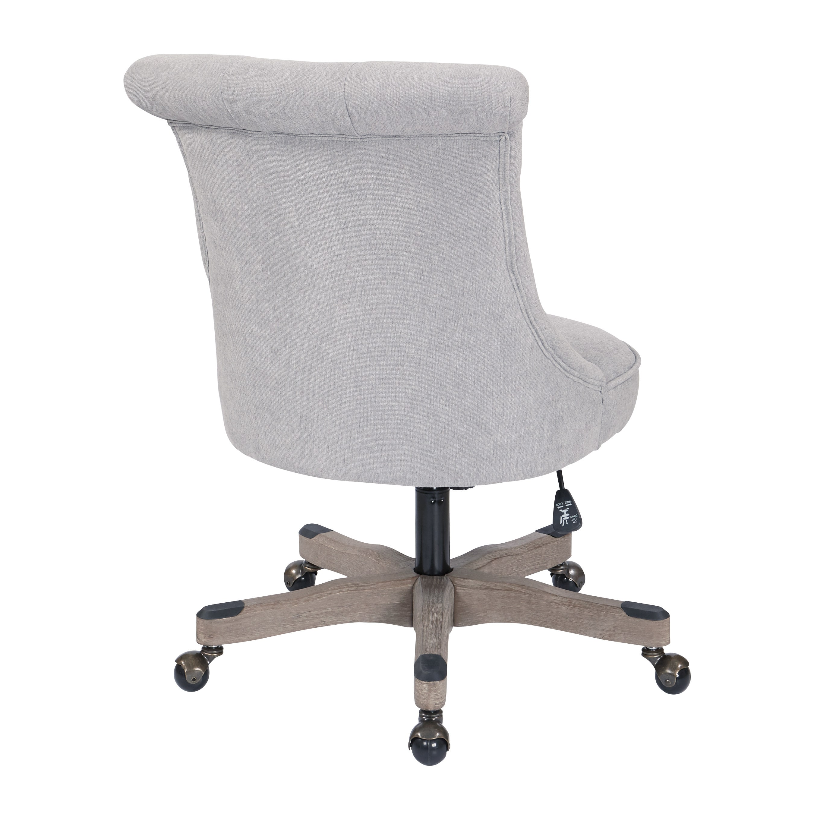 modern upholstered tufted awesome of swivel chair lovely new fice desk