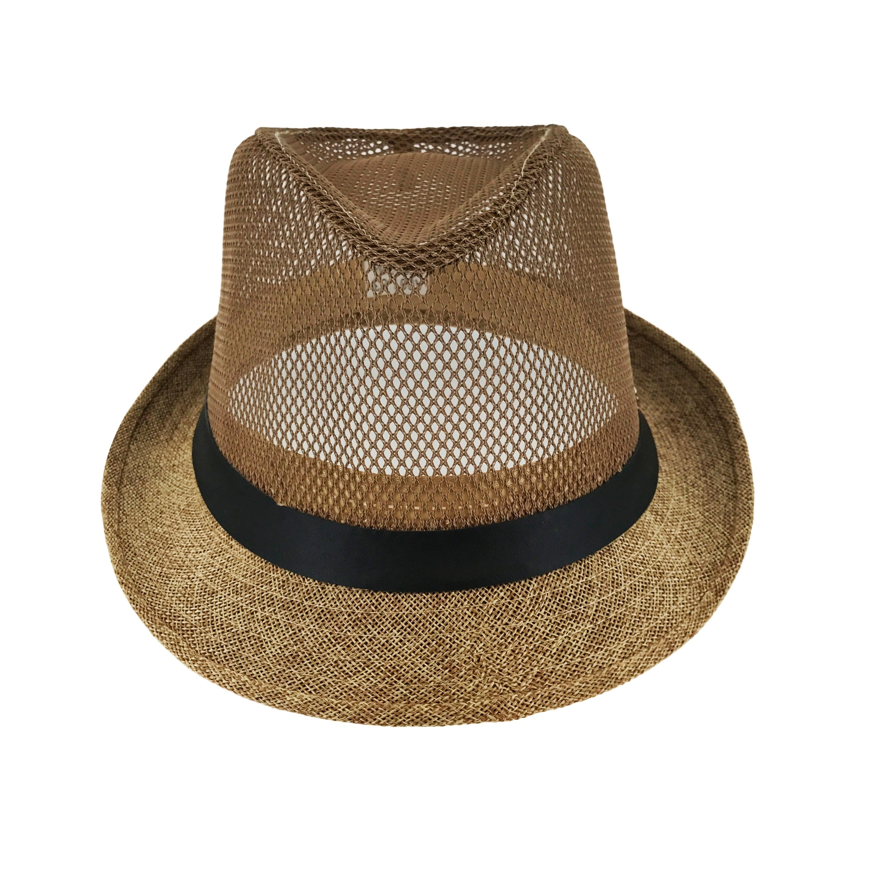 Shop Faddism C-Thru Phase Out Mesh Street Fashion Unisex Fedora Hats - Free  Shipping On Orders Over  45 - Overstock.com - 17955594 a7d44e66da0a