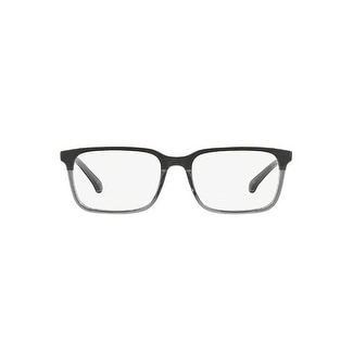 6498a5404a Shop Brooks Brothers Men s BB2033 6123 54 Grey Wood Grey Translucent  Rectangle Plastic Eyeglasses - Ships To Canada - Overstock.ca - 17961308