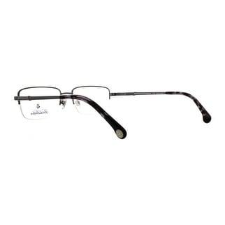 eebf1e3870 Brooks Brothers Men s BB1035 1630 53 Brushed Gunmetal Rectangle Metal  Eyeglasses - Free Shipping Today - Overstock - 24137960