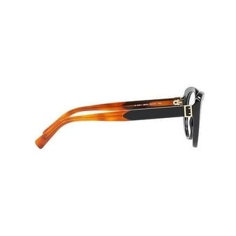 d8656094608 Shop Burberry Women s BE2251 3637 51 Black Round Plastic Eyeglasses - Free  Shipping Today - Overstock.com - 17961941
