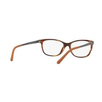 333f875bcbcb Shop Ralph Lauren Women s RL6135 5007 54 Stripped Havana Rectangle Plastic  Eyeglasses - Free Shipping Today - Overstock.com - 17962363