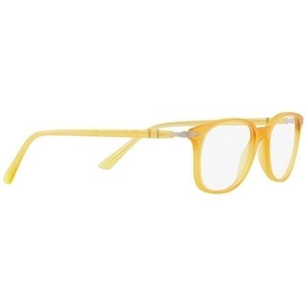 53e5f53fad25 Shop Persol Men's PO3183V 1048 52 Matte Yellow Rectangle Plastic Eyeglasses  - Free Shipping Today - Overstock - 17962417