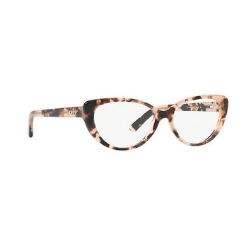 9a3914ae44a Shop Donna Karan New York Women s DY4664 3731 54 Pink Tortoise Cateye  Plastic Eyeglasses - Free Shipping Today - Overstock.com - 17962656