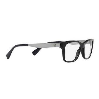df88bf6558d Shop Versace Men s VE3245 5238 55 Black Blue Rectangle Plastic Eyeglasses -  Free Shipping Today - Overstock - 17962677