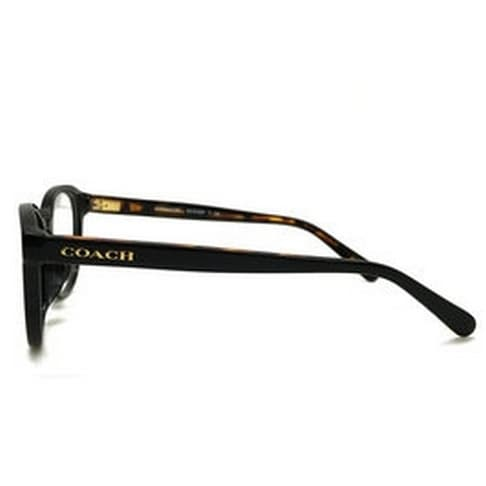 988381204f Shop Coach Women s HC6102F 5442 53 Black  Black Tortoise Rectangle Plastic  Eyeglasses - Free Shipping Today - Overstock.com - 17963018