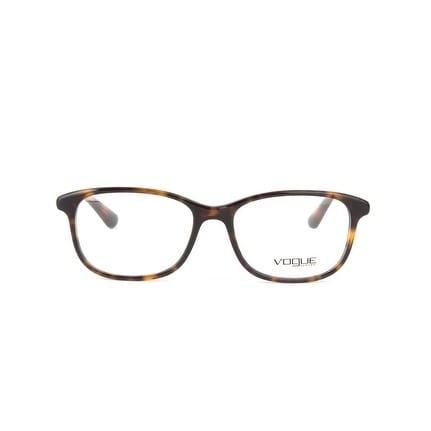 923ac44e64 Shop Vogue Women s VO5163F W656 53 Dark Havana Rectangle Plastic Eyeglasses  - Free Shipping Today - Overstock.com - 17963684