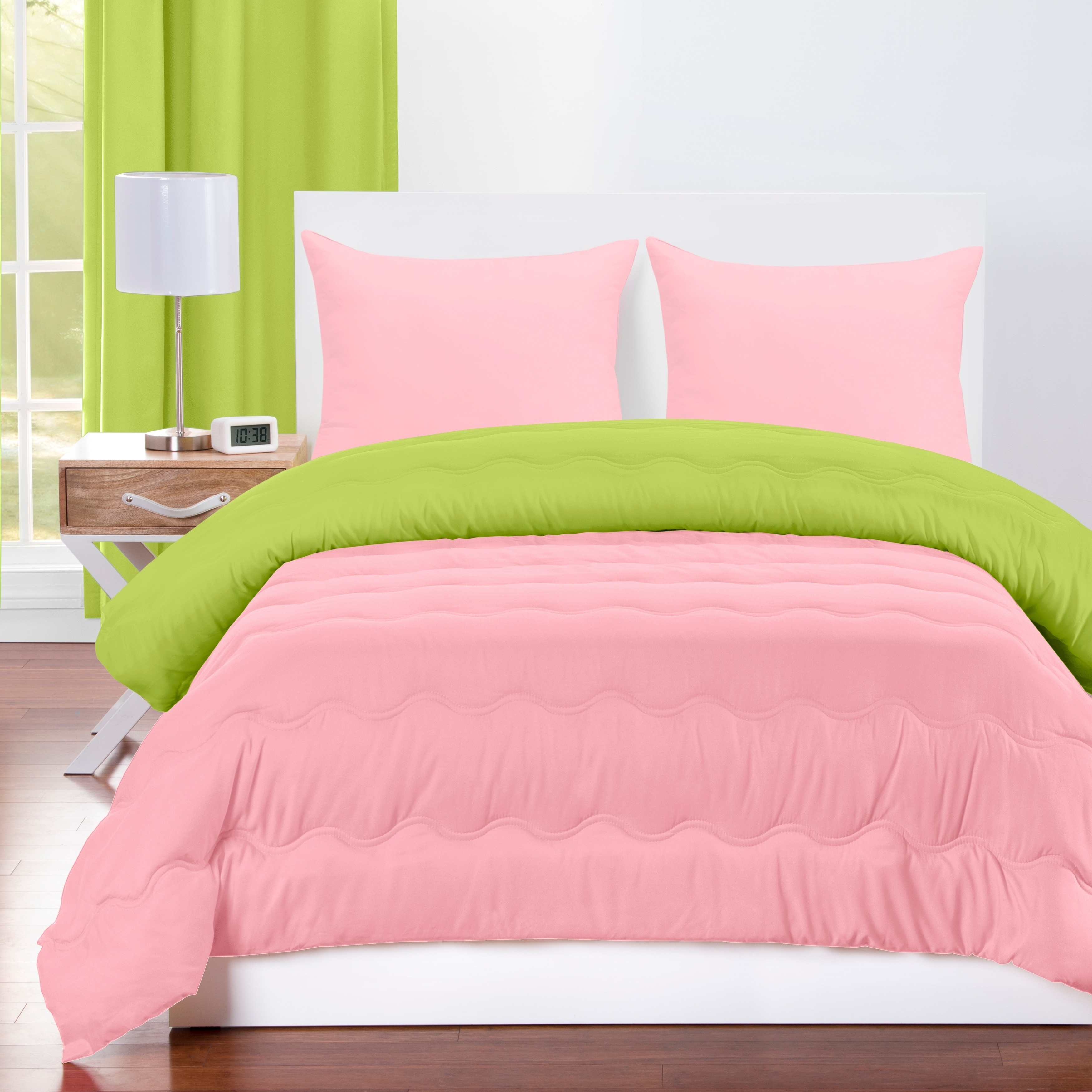 cactus set free pink product overstock bedding green collection comforter size piece bath today designs floral twin girl sweet and watercolor jojo boho shipping