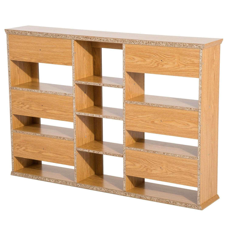 Homcom Wall Mount Cd Dvd Media Storage Shelf Rack On Free Shipping Today 17967094