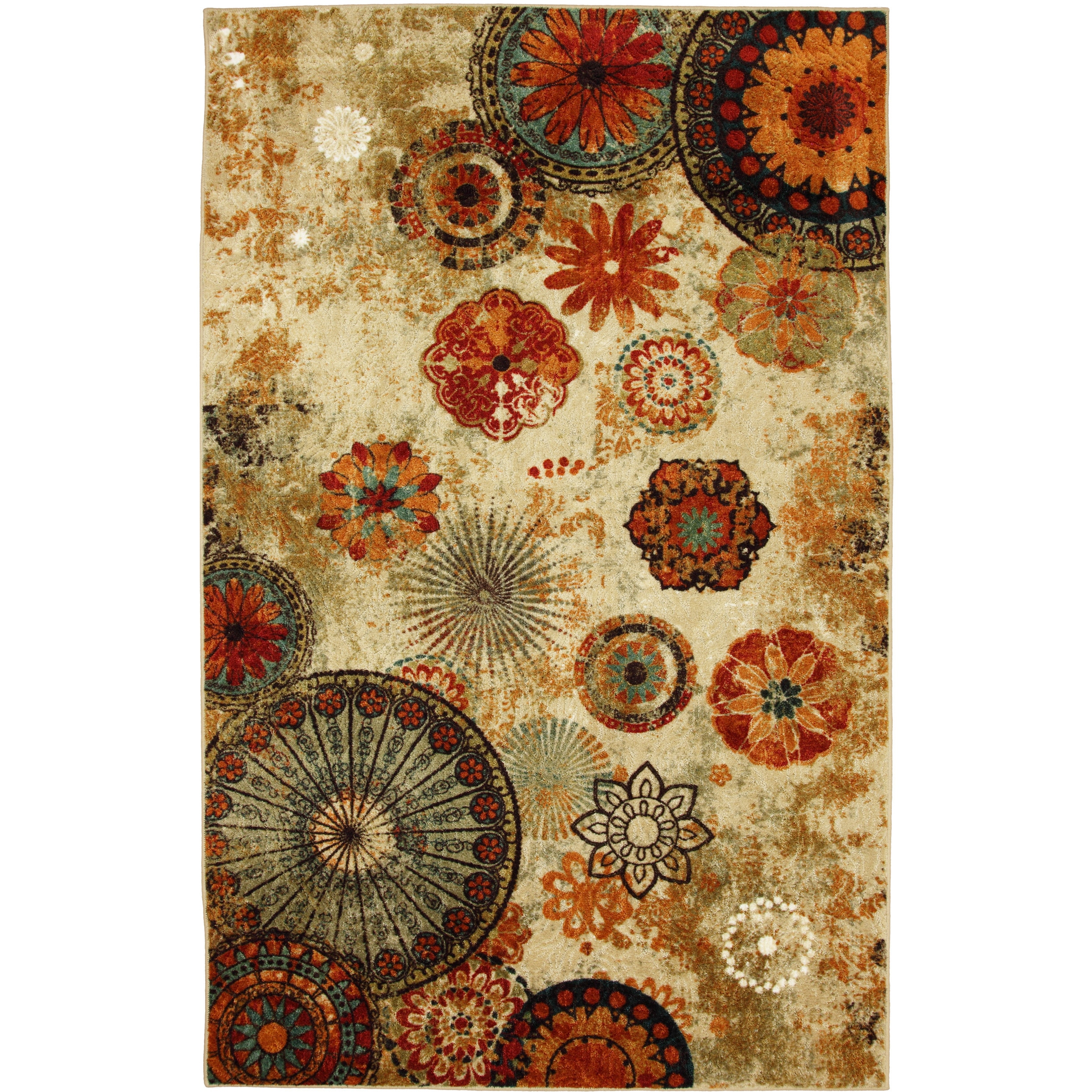 Porch & Den Park Circle Bexley Indoor Outdoor Medallion Area Rug