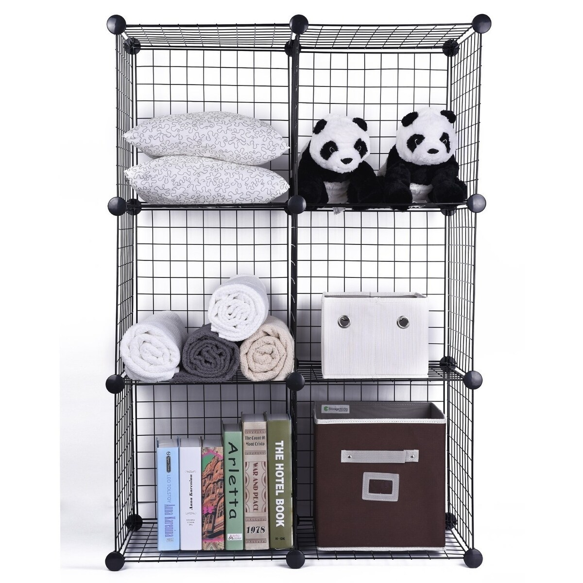 Fancy Wire Storage Cubes Set Embellishment - Electrical Diagram ...