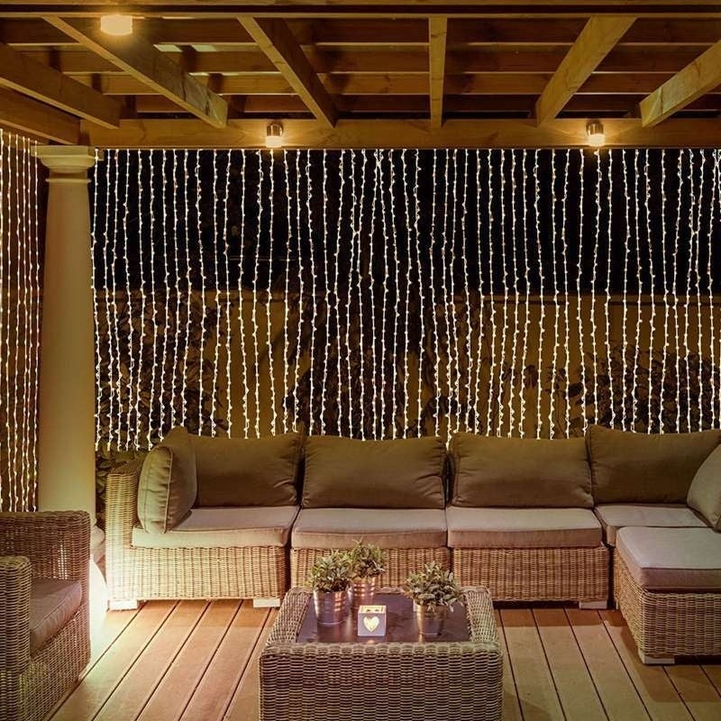 Charming 3*3M Curtain String Lights 304 LED Wall Lights Christmas String Light    Free Shipping On Orders Over $45   Overstock.com   24147347