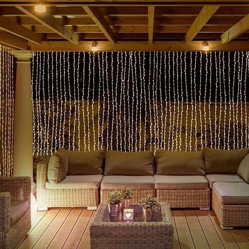 304 Led Wall Lights Curtain String Outdoor Light On Free Shipping Orders Over 45 17971936