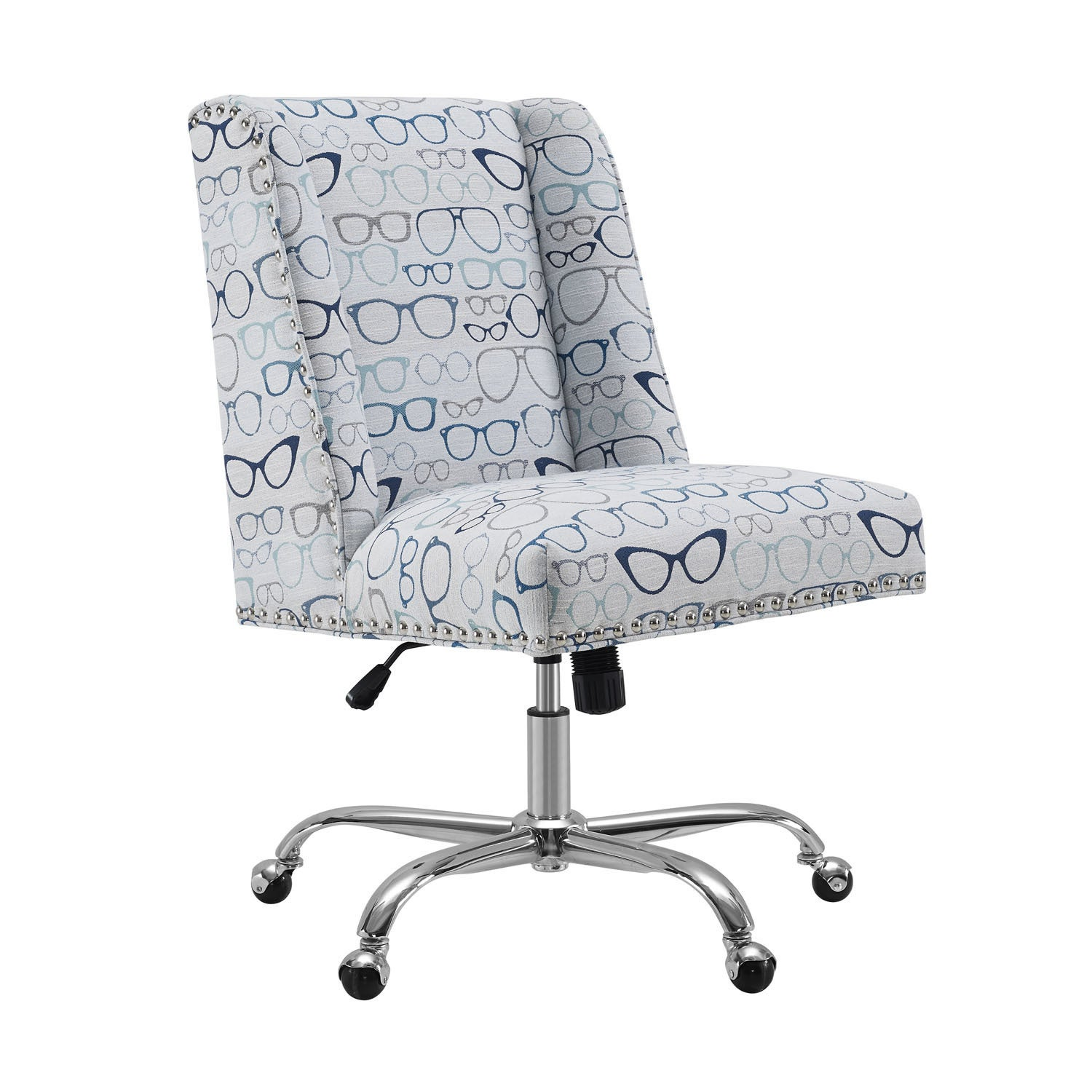 Shop finn glasses office chair free shipping today overstock com 17978456