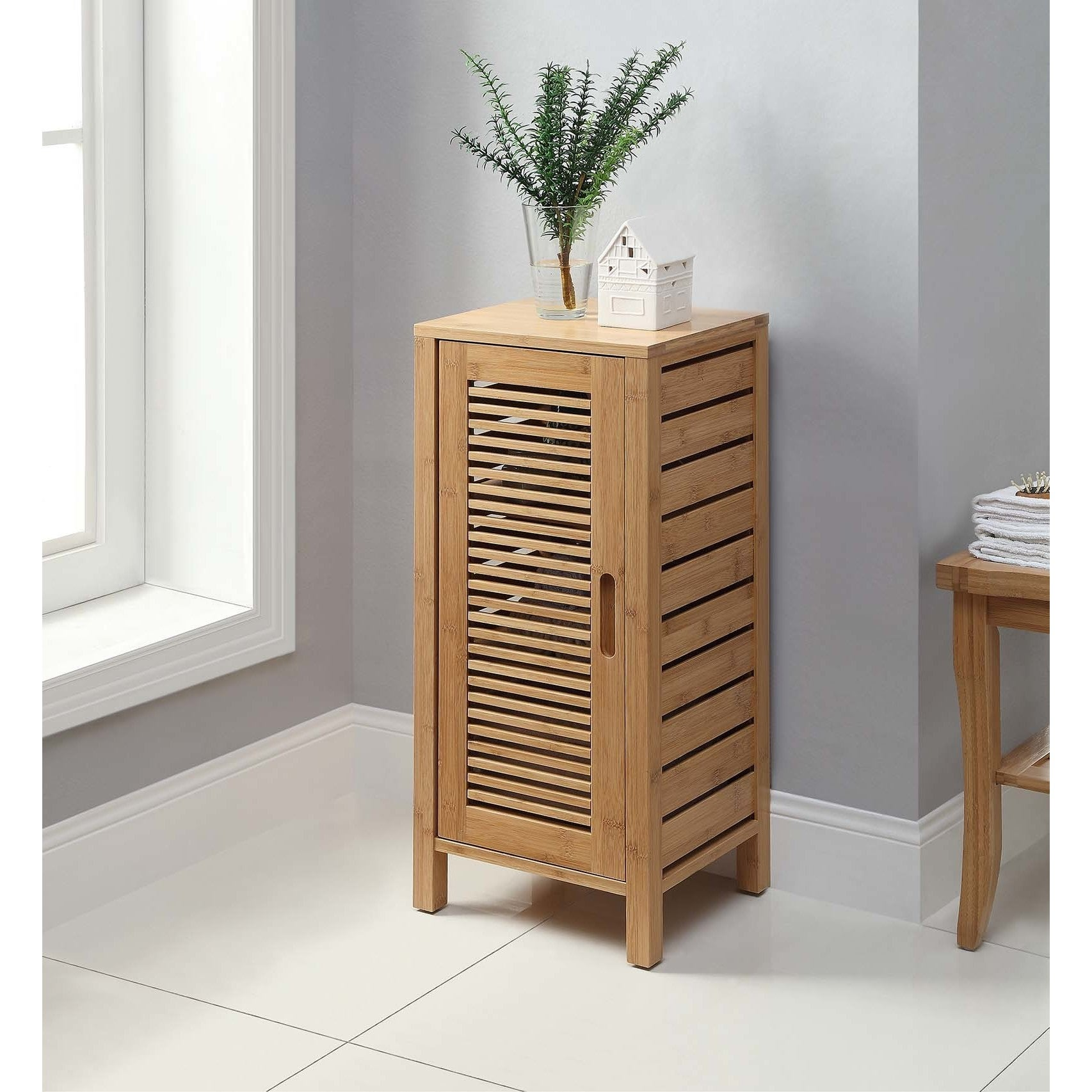 Bracken One Door Floor Cabinet - Free Shipping Today - Overstock ...