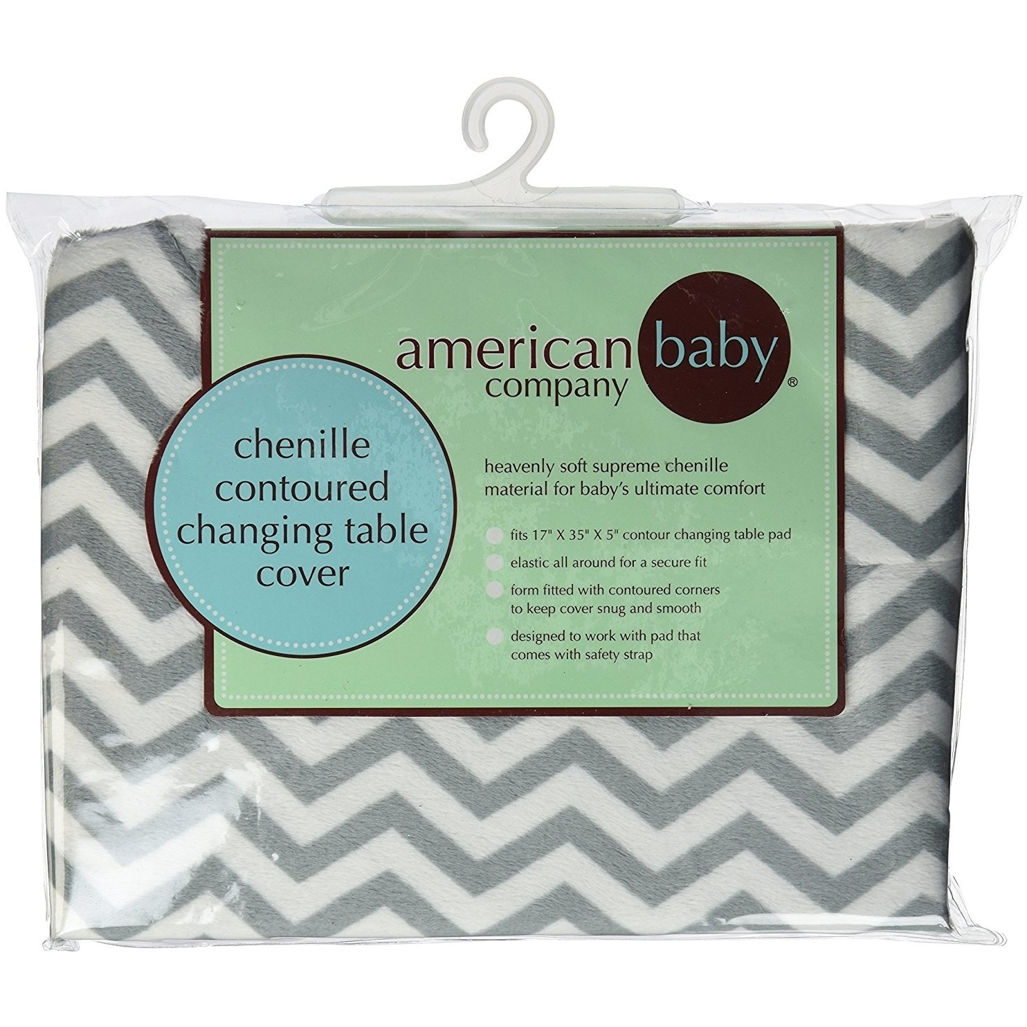 Shop American Baby Company Heavenly Soft Chenille Fitted Contoured - American table pad company