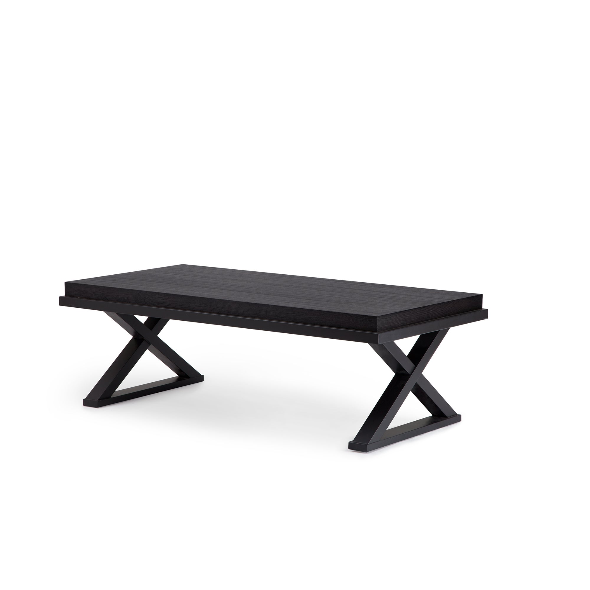 Shop tao yukon cocoa and dark chocolate wood rectangular coffee table free shipping today overstock com 17983019