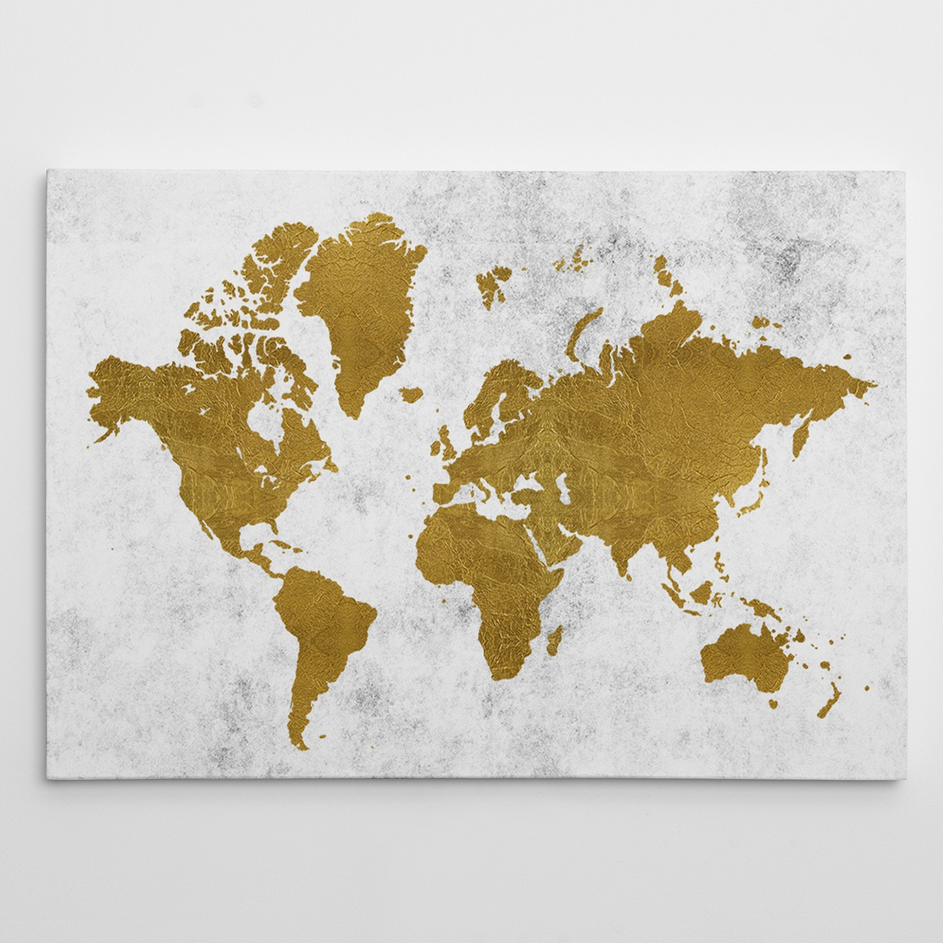 Shop golden world map gallery wrapped canvas on sale free shop golden world map gallery wrapped canvas on sale free shipping today overstock 17990336 gumiabroncs Image collections