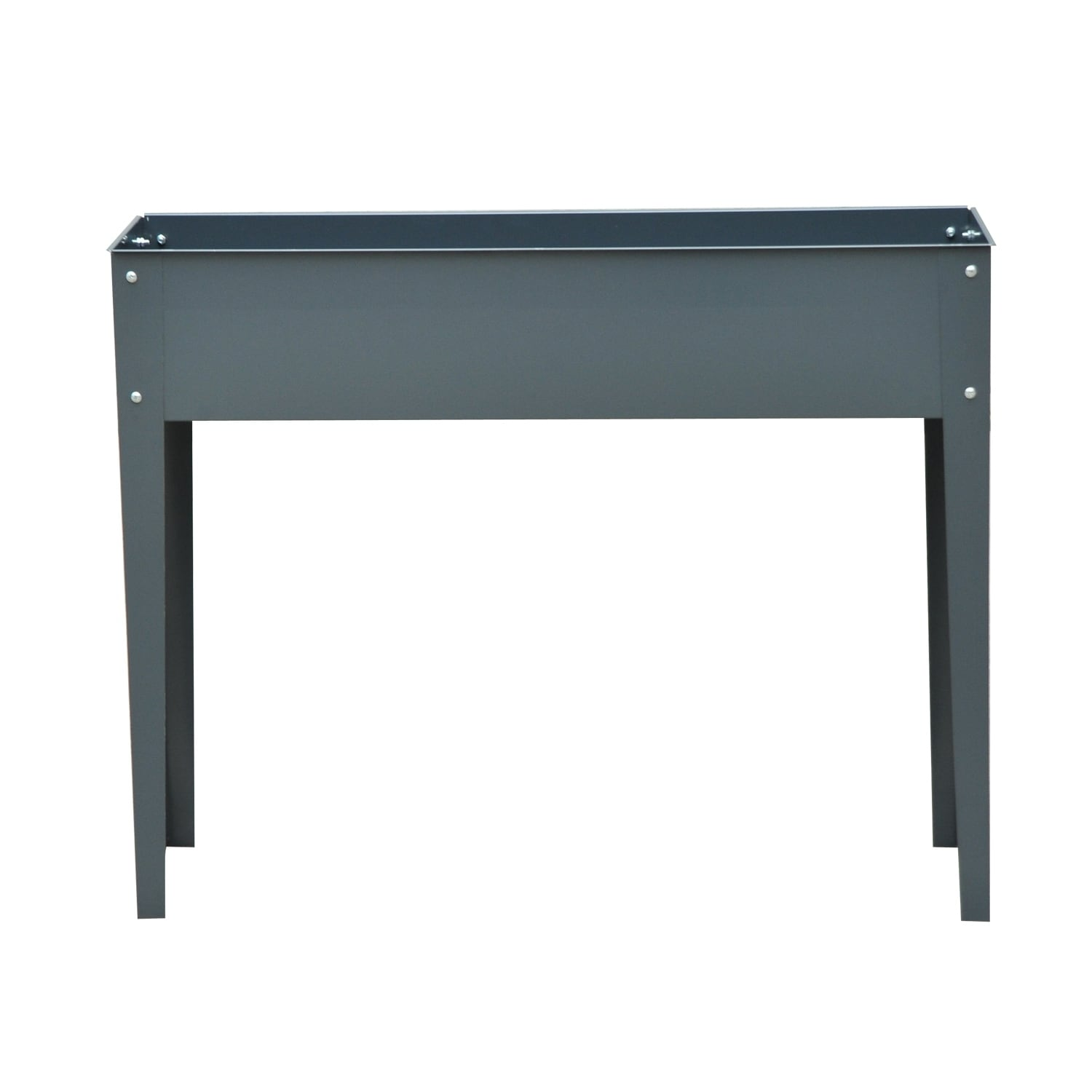 Shop Outsunny 40 In X 32 In X 12 In Metal Elevated Garden Bed