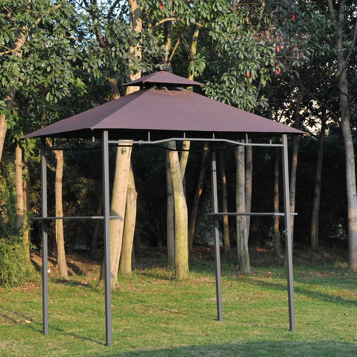 gazebos wooden gazebo forest garden internet gardener product bbq awning shelter