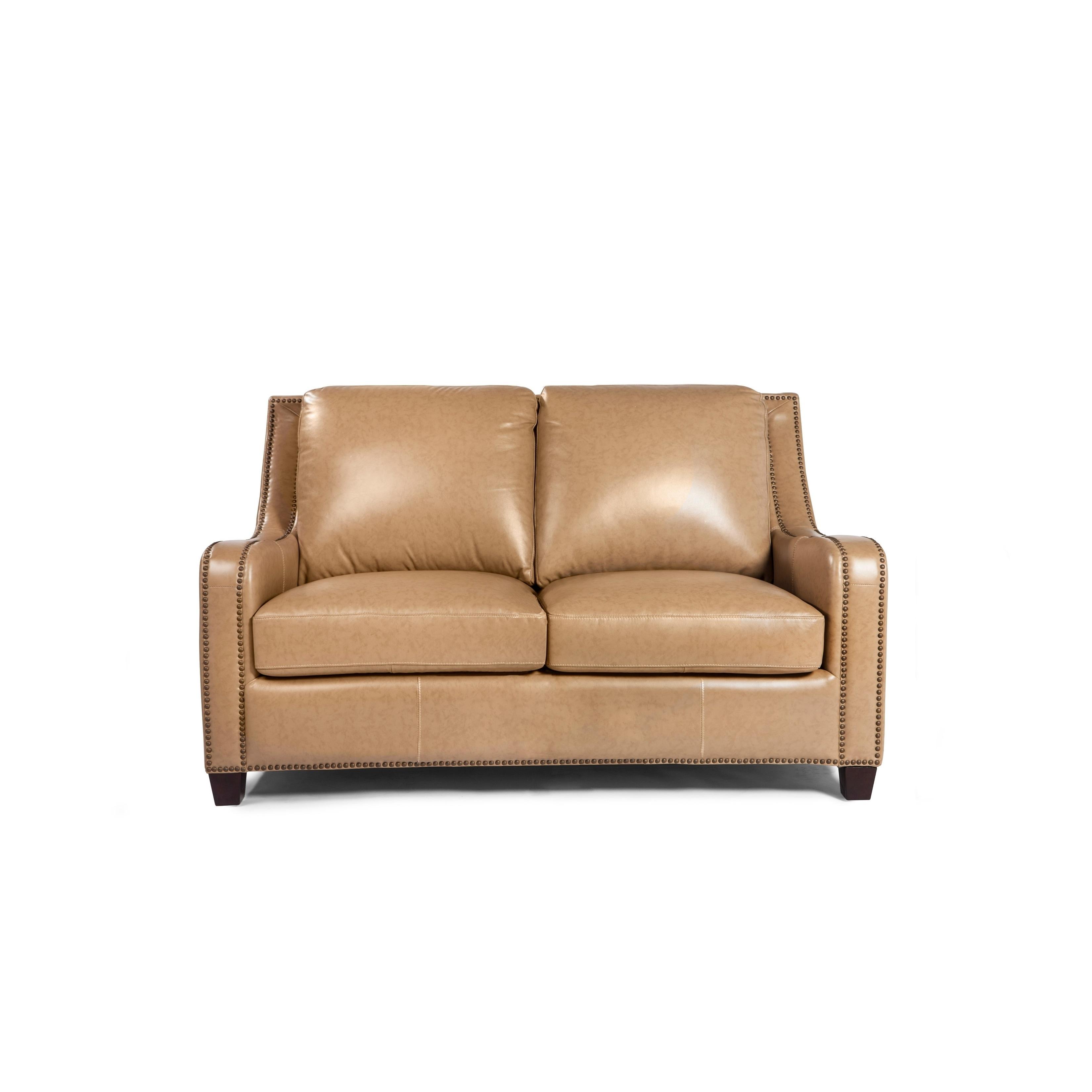 Lazzaro Leather Denver Sofa Free Shipping Today 17993078