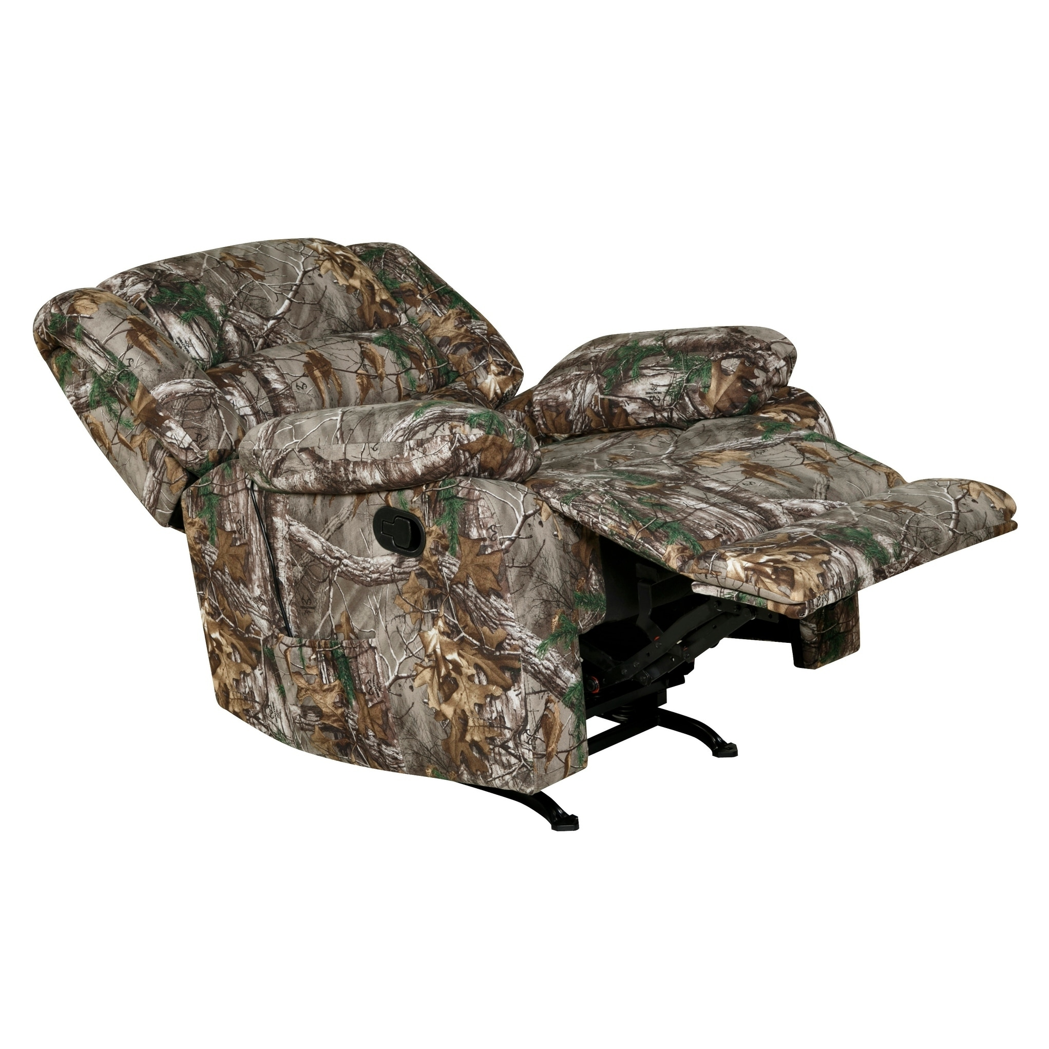 Shop Longstreet Rocker Recliner With Heat Massage Usb Realtree