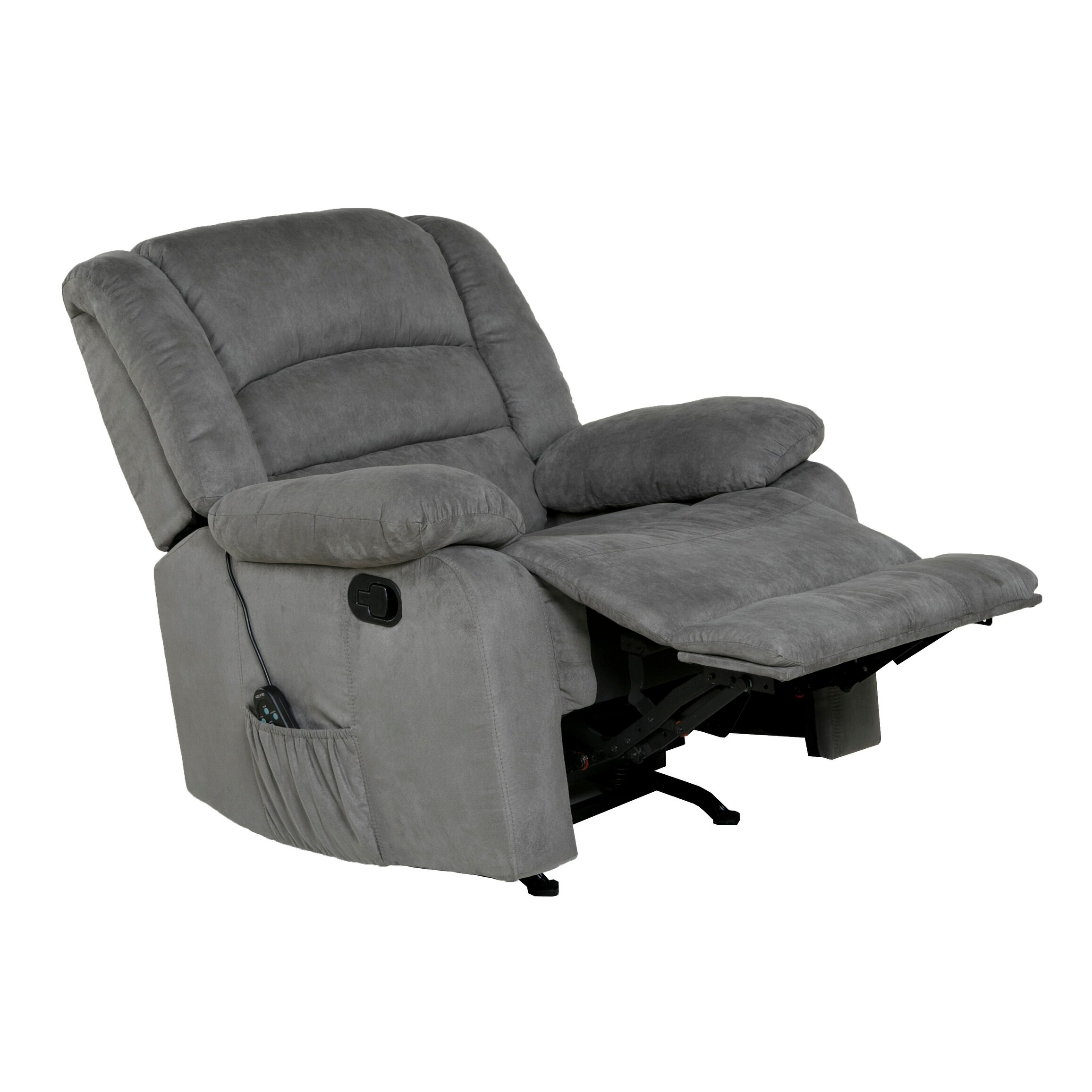 shop copper grove tynwald rocker recliner with heat massage and rh overstock com